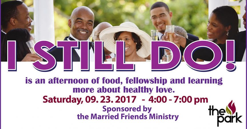 Married Friends Ministry Event