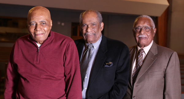 Drs. Larry Lundy, Robert Prince, and Claude Williams