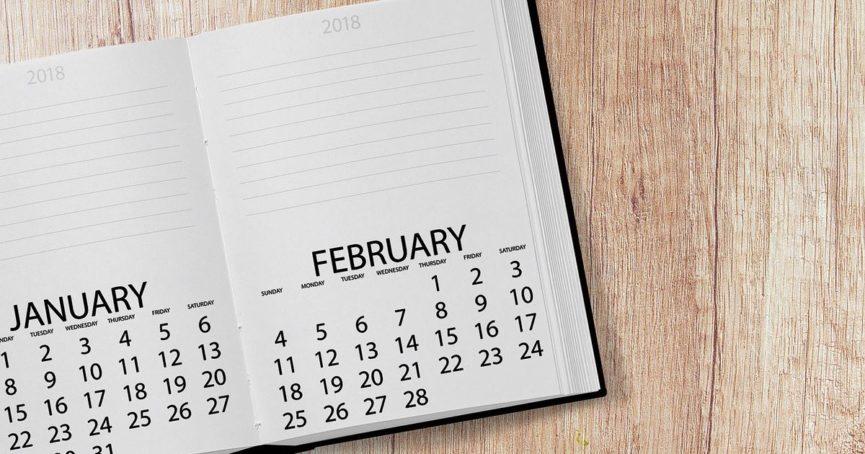 mark your calendar february