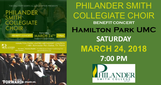 2018 Philander Smith-Collegiate Choir Benefit Concert