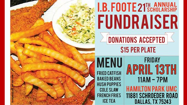 I.B. Foote Fundraiser Fish Fry 2018