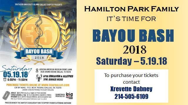 Bayou Bash 2018