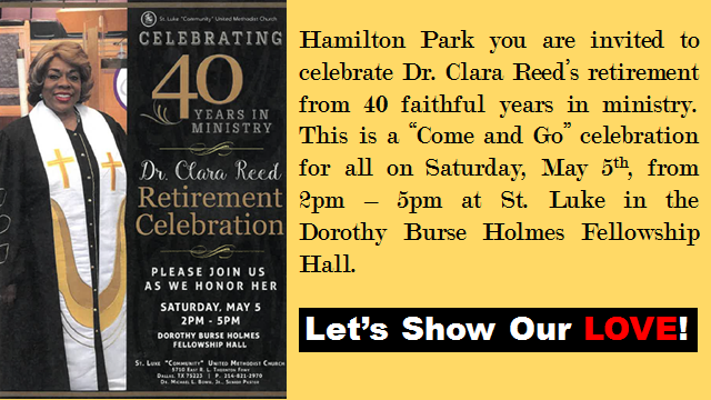 Dr. Clara Reed's retirement celebration