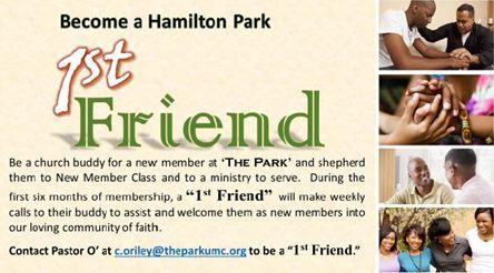 Hamilton Park 1st Friend