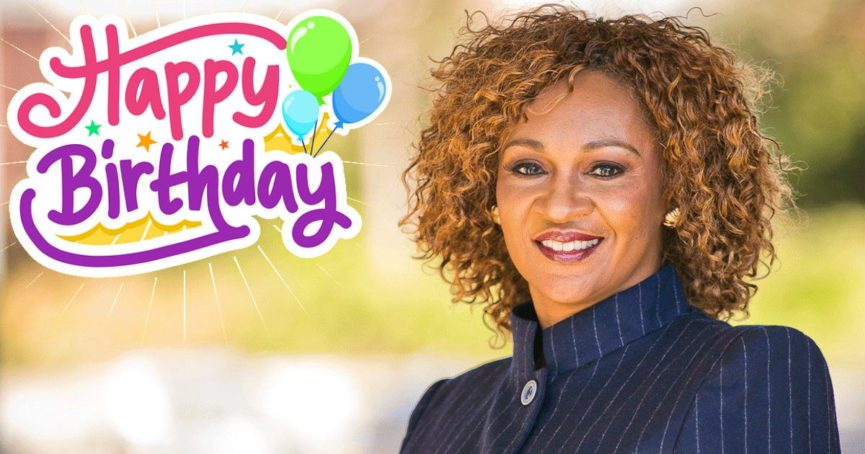Happy Birthday Pastor Sheron