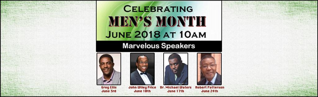 Celebrating Men's Month