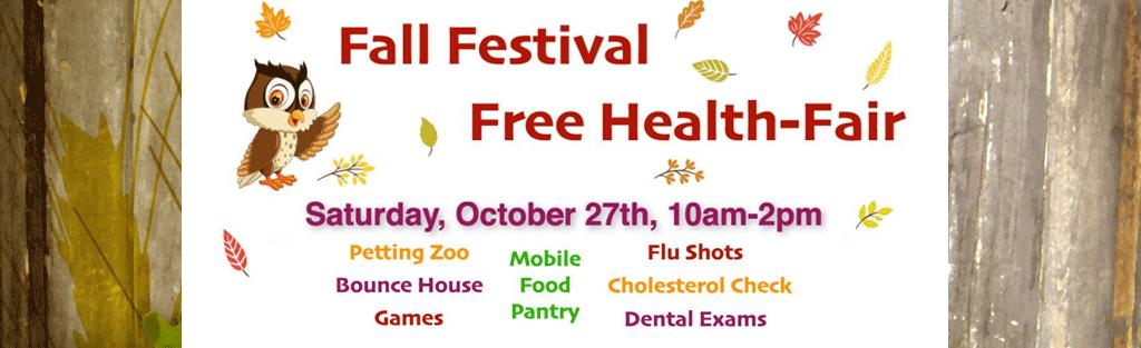 Fall Festival and Health Fair