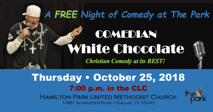 White Chocolate Comedian
