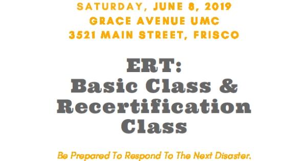 ERT Basic Class and Recertification Class June 8, 2019