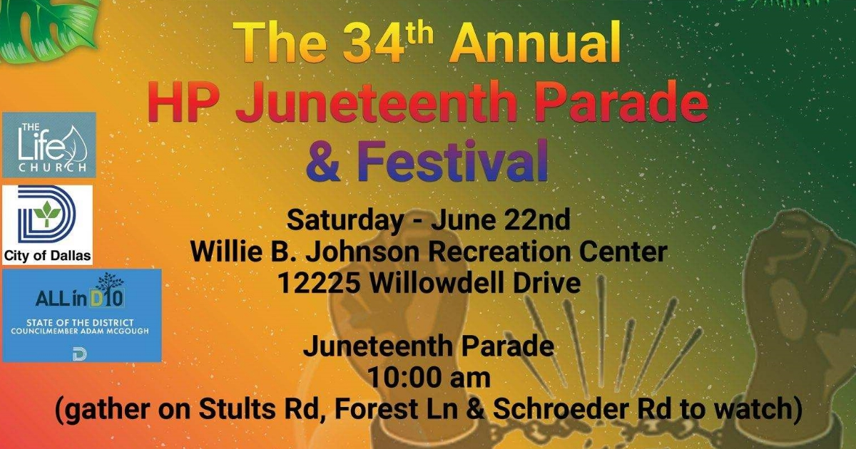 34th Annual HP Juneteenth Parade and Festival