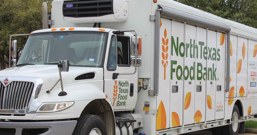 North Texas Food Bank Mobile Food Pantry