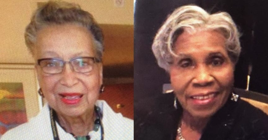 Charter Members Odetta Russeau and Annie Robertson