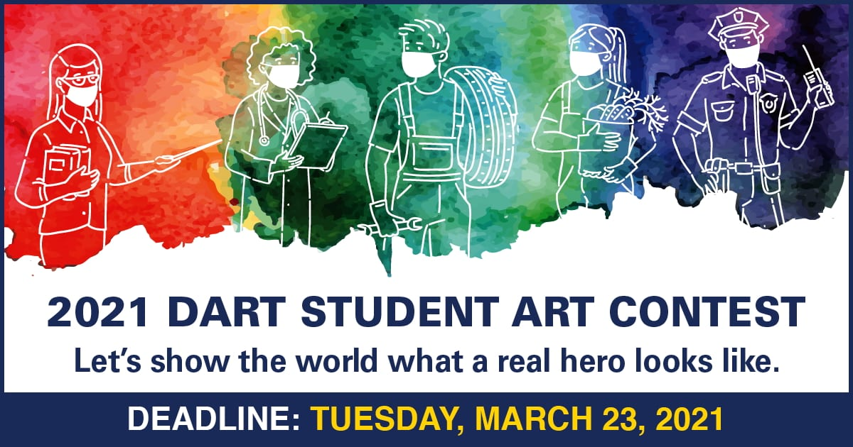 2021 DART Student Art Contest