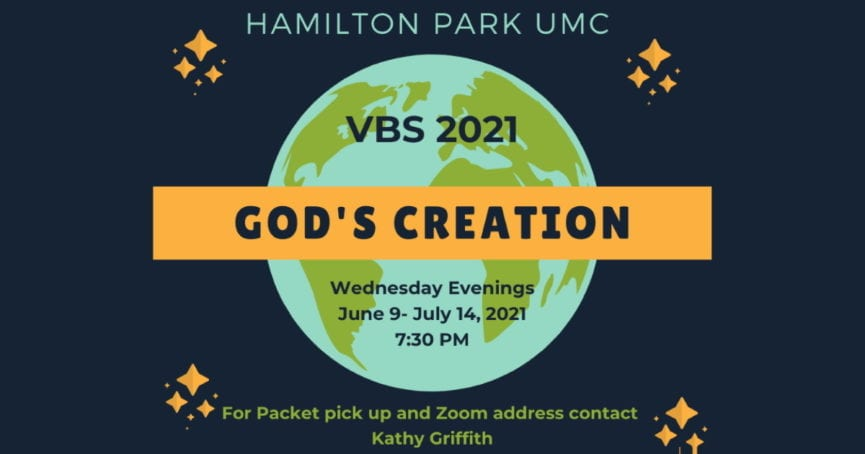 Vacation Bible School 2021 God's Creation