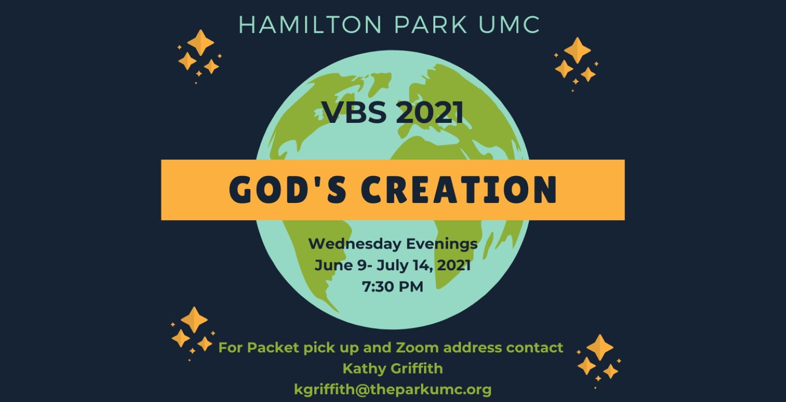 VBS 2021 God's Creation