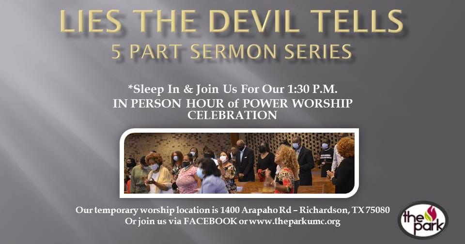 """Featured image for """"New Sermon Series: Lies the Devil Tells"""""""