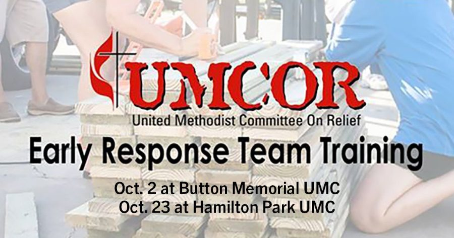 """Featured image for """"UMCOR Early Response Team Training: October 23, 2021"""""""